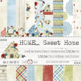 Home... sweet home - set of papers 15x15cm