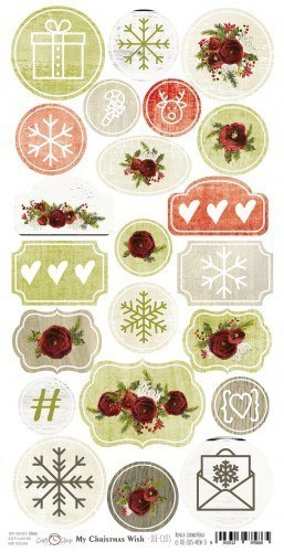 MY CHRISTMAS WISH - DIE - CUTS