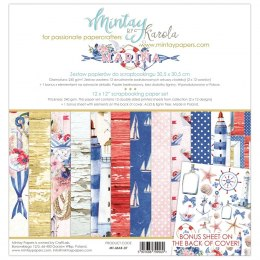 Marina paper set ,12 pcs