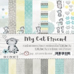 My cat firend paper set 15x15