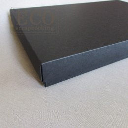 PAPER CARD BOX - 16X16 CM - BLACK