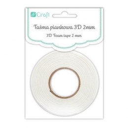 3D FOAM TAPE 2MM 0,5CMX2,2M