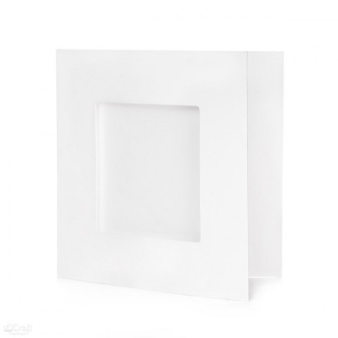SQUARE TRI-FOLD CARD KIT 13,5 CM X 13,5 CM , 10 PC