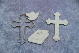 Baptism - Bible, Cross, Dove