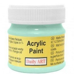 Acrylic Paint, mint, 50 ml