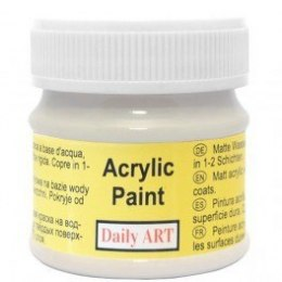 Acrylic Paint, warm grey, 50 ml