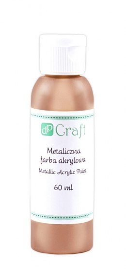 METALLIC ACRYLIC PAINT, 60 ML - COPPER