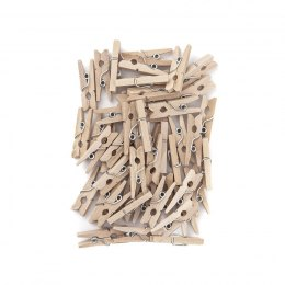 MINI WOODEN PEGS 2,5 CM, 40 PCS