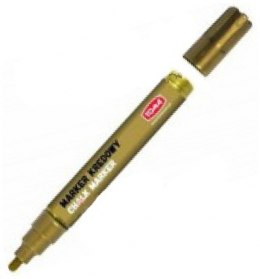Chalk marker - 4,5 mm, gold