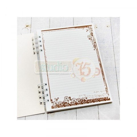 Notebook - Mr Black - hard cover