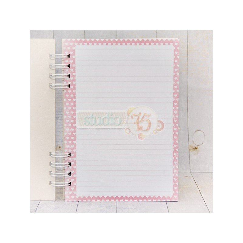Notebook- hearts in pink Premium