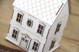 Tiny Family house 3D - Mikro Family 3D cottage (up to 10cm box)