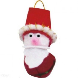 SANTA BELLS CRAFT KIT, MAKES 4