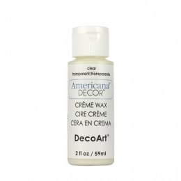 Americana Decor Clear Creme Wax 59 ml