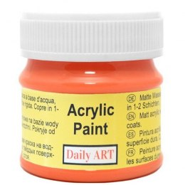 Acrylic Paint, orange, 50 ml