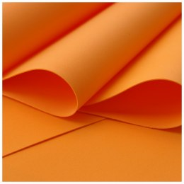 Foamiran 0,6 mm, 60 x 70 cm, orange - ON ORDER