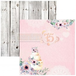 Scrapbooking paper set - Hello spring - 8 pcs - Studio75