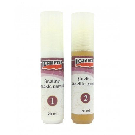 Pentart - fineline crackle varnish 50 ml