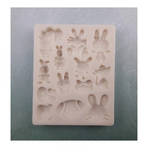 PENTART-Silicone mold- Easter mix