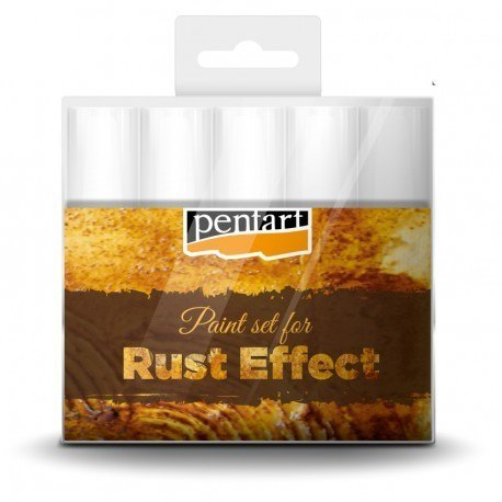 PENTART-Paint set for rust effect