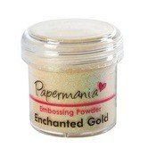 EMBOSSING POWDER - PAPERMANIA -GOLD