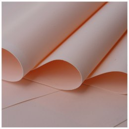 Foamiran 0,6mm 60 x 70 cm, peach - ON ORDER
