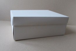 White card box 222x212x85mm