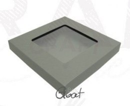 Box anthracite mat. 16x16x2,5cm square GoatBox