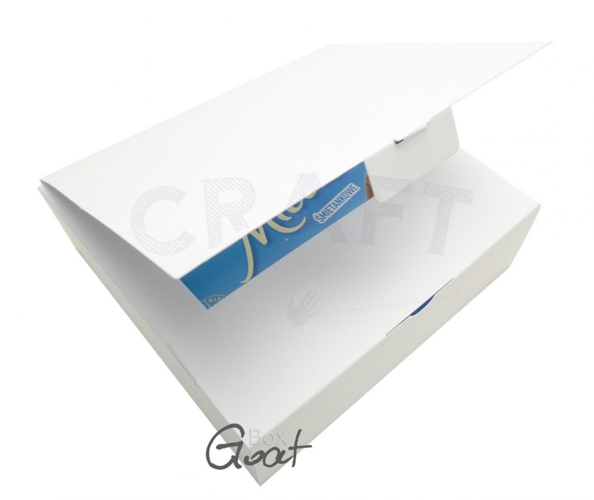 Box Marshmallow White GoatBox