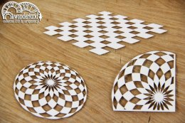 Wonderland - 3 chessboard floors