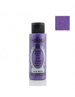 DIAMOND METALIC PAINT 70ml purple