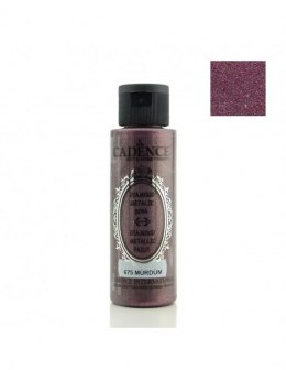 DIAMOND METALIC PAINT 70ml plum