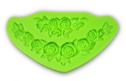 PENTART-SILICONE MOLD - ROSES