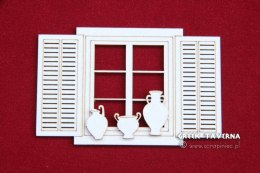 Greek Tavern - window and jug