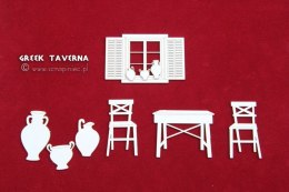 Greek Tavern - set of elements