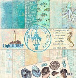 LightHOUSE - scrapbooking papers SET 12'