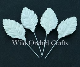 Leaves White (30mm) - 10pcs