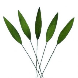 Leaves green grass (30mm) - 10pcs