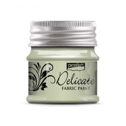PENTART-FABRIC PAINT 50 ml DELICATE WHITE GOLD
