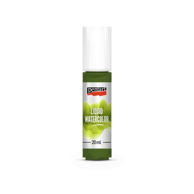 PENTART - LIQUID WATERCOLOR 30ml GREEN APPLE