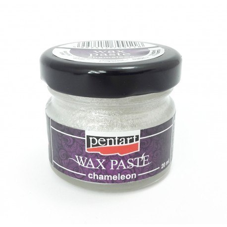 Wax paste chameleon silver/20ml/Pentart