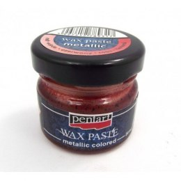 Red wax paste metallic/20ml/Pentart