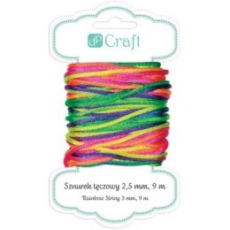 RAINBOW STRING 2,5 MM, 9 M