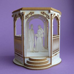 Chipboard - Wedding gazebo 3D