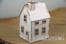 Tiny Family house 02 3D - (up to 10cm box)