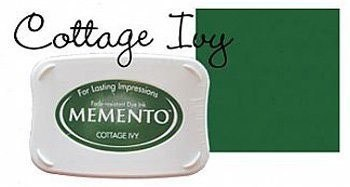 Memento Ink Pads Cottage Ivy