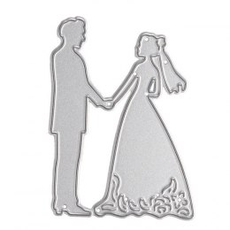 Craft Die Wedding couple 5,0 CM X 6,6 CM