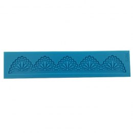 PENTART-SILICONE MOLD LACE WITH FLOWER