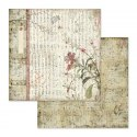STAMPERIA- 30x30cm ORIENTAL GARDEN 10 pcs, SET OF PAPERS