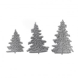 CUTTING DIES - TREES, 3 PCS